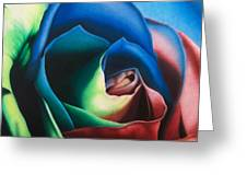 Rose Hybrid Greeting Card by Michael Wicksted