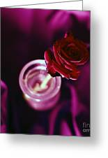 Rose Greeting Card by Stylianos Kleanthous