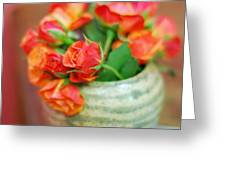 Roses Greeting Card by Lisa  Phillips