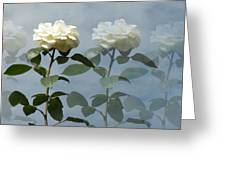 Roses Roses And More Roses Greeting Card by Rosalie Scanlon