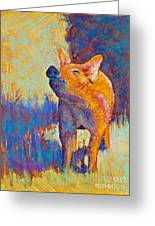 Rosie Greeting Card by Tracy L Teeter