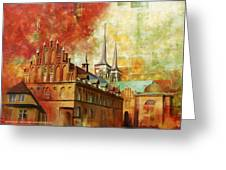 Roskilde Cathedral Greeting Card by Catf