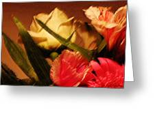 Rough Pastel Flowers - Award-winning Photograph Greeting Card by Gerlinde Keating - Keating Associates Inc