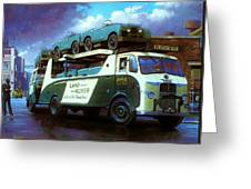 Rovers For Export. Greeting Card by Mike  Jeffries