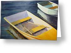 Rowboats Greeting Card by Sarah Buell  Dowling