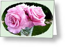Royal Kate Roses Greeting Card by Will Borden