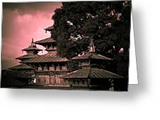 Royal Palace Greeting Card by Nila Newsom