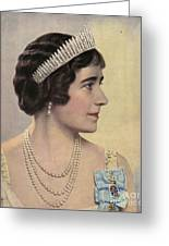 Royalty 1939 1930s Uk Queen Elizabeth Greeting Card by The Advertising Archives