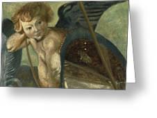 Ruben's Angel Greeting Card by Shelley Irish