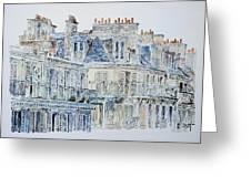 Rue Du Rivoli Paris Greeting Card by Anthony Butera