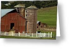 Rural Barn Greeting Card by Bill Gallagher