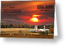 Rural Barns By Randall Branham Greeting Card by Randall Branham