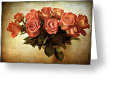 Russet Rose Greeting Card by Jessica Jenney
