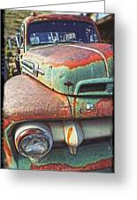 Rust Or Bust Greeting Card by Justin  Curry