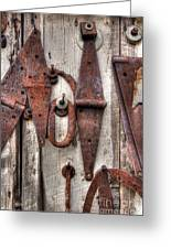 Rusted Past Greeting Card by Benanne Stiens