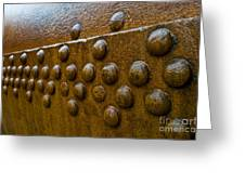 Rusted Whaling Machinery Greeting Card by John Shaw