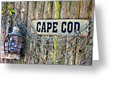 Rustic Cape Cod Greeting Card by Bill Wakeley