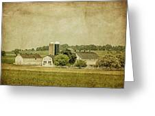 Rustic Farm - Barn Greeting Card by Kim Hojnacki