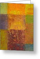 Rustic Layers 2.0 Greeting Card by Michelle Calkins