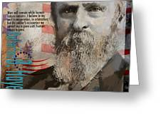 Rutherford B. Hayes Greeting Card by Corporate Art Task Force