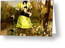 Sa Majeste La Parisienne Greeting Card by Alfred Stevens