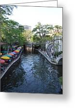 Sa River Walk 2  Greeting Card by Shawn Marlow