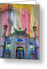 Sachal Sarmast Tomb Greeting Card by Catf