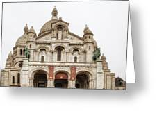 Sacre Coeur  Greeting Card by Nomad Art And  Design