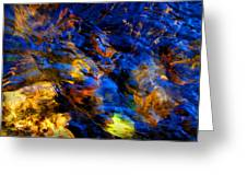 Sacred Art Of Water 4 Greeting Card by Peter Cutler
