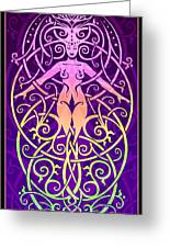 Sacred Ecology Greeting Card by Cristina McAllister