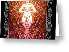 Sacred State v.2 Greeting Card by Cristina McAllister