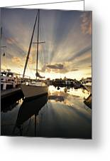 Sailed In Greeting Card by Alexey Stiop