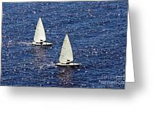 Sailing Greeting Card by Lars Ruecker