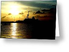 Sailors Morning Greeting Card by Amy Sorrell