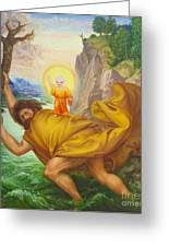 Saint Christopher By Otto Dix Greeting Card by Roberto Morgenthaler