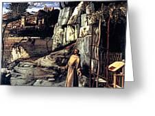 Saint Francis In Ecstasy 1485 Giovanni Bellini Greeting Card by Karon Melillo DeVega