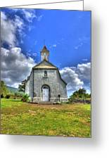 Saint Joeseph's Church Maui  Hawaii Greeting Card by Puget  Exposure