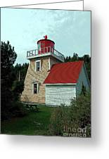 Saint Martin's Lighthouse 2 Greeting Card by Kathleen Struckle