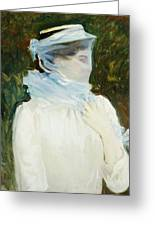 Sally Fairchild Greeting Card by John Singer Sargent