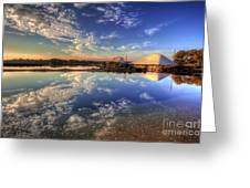 Salt Pans Of Ludo Greeting Card by English Landscapes