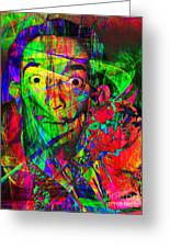 Salvador Dali 20130613 Greeting Card by Wingsdomain Art and Photography