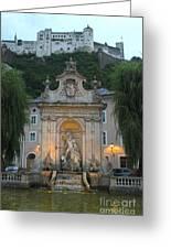 Salzburg Austria Greeting Card by Gregory Dyer