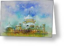 Samadhi Ranjeet Singh Greeting Card by Catf