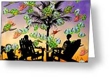 Sam's Imagination IIi Greeting Card by Betsy A  Cutler