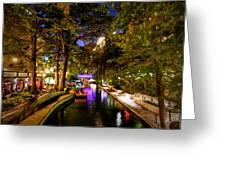 San Antonio Hdr 001 Greeting Card by Lance Vaughn
