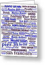 San Francisco 20130710whi Greeting Card by Wingsdomain Art and Photography