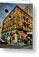 San Francisco - Chinatown 006 Greeting Card by Lance Vaughn