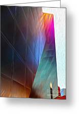 San Francisco - Contemporary Jewish Museum - 02 Greeting Card by Gregory Dyer