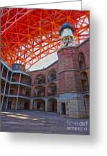 San Francisco - Fort Point - 02 Greeting Card by Gregory Dyer