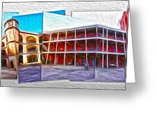 San Francisco - Fort Point - 03 Greeting Card by Gregory Dyer